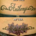 Tattoo Cover Up Waist