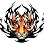 Tiger Art Tattoo Designs
