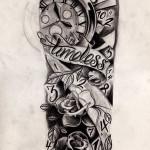 Timeless Half Sleeve Tattoo Designs