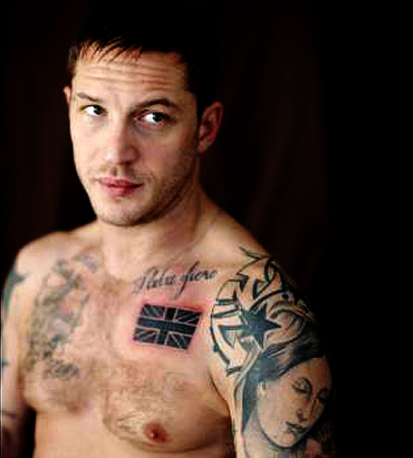 Tattoo Quotes Celebrities: Tom Hardy Male Celebrity Tattoo