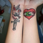 Tribal Wrist Tattoo Designs For Girls