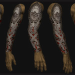 Unique Scary Full Sleeve Tattoo Designs For Men