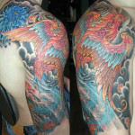 Wings Full Sleeve Tattoo Designs For Men