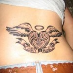 Wings Lower Back Tattoo Designs