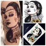 1PC-Sexy-Women-Punk-font-b-Designs-b-font-Waterproof-font-b-Tattoo-b-font-Stickers