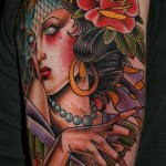 Gypsy-Girl-Tattoo-2015 Gypsy Girl Tattoo