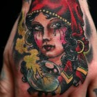 Gypsy girl tattoos