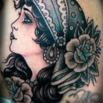 Gypsy Girl Tattoo34