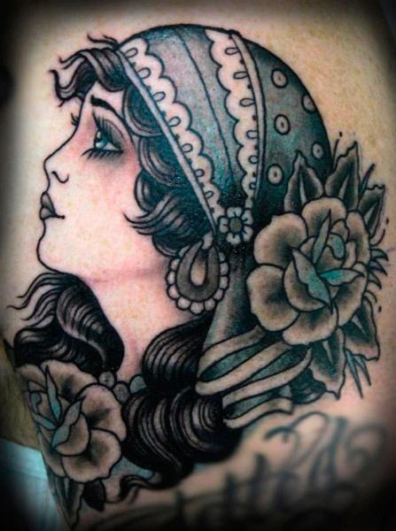 Gypsy Girl Tattoo34