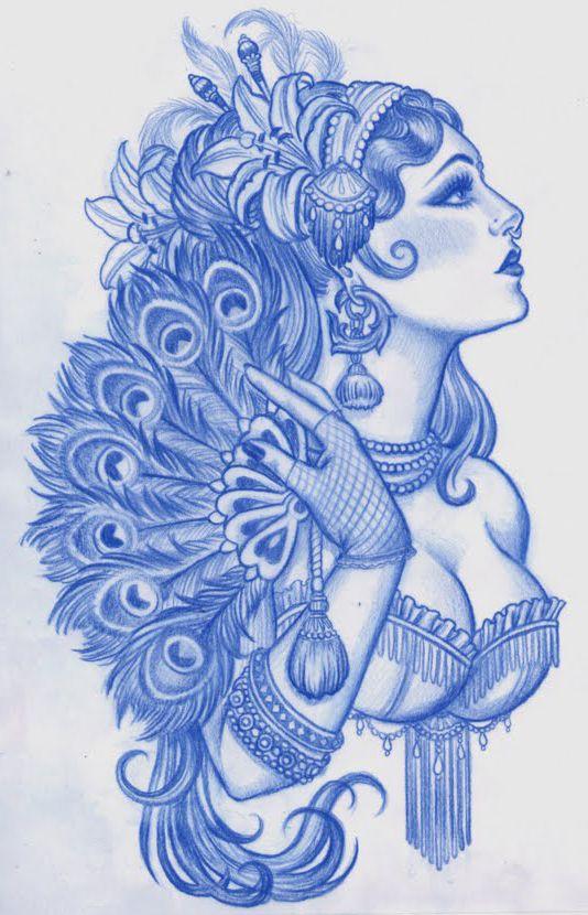 Gypsy Girl Tattoo5
