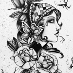 Gypsy Girl Tattoo64