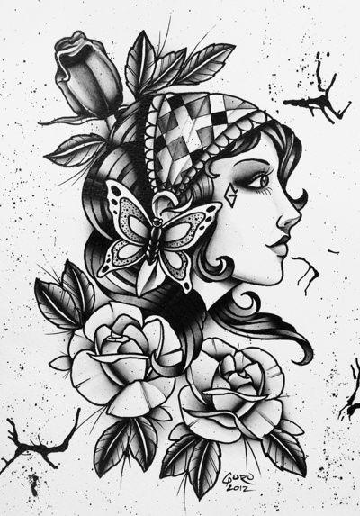Gypsy Girl Tattoo64