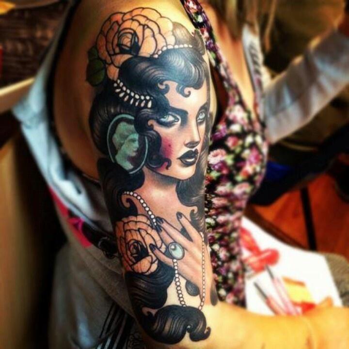 Gypsy Girl Tattoo7