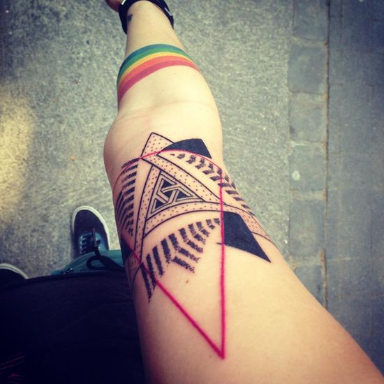 Hipster-Tattoo