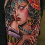 awesome-girl-gypsy-tattoo