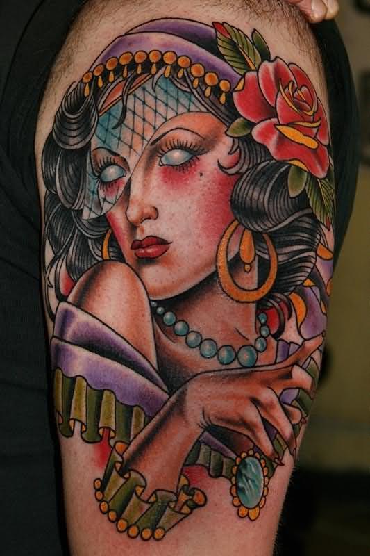 awesome-girl-gypsy-tattoo