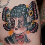 tattoo-old-school-woman-butterfly
