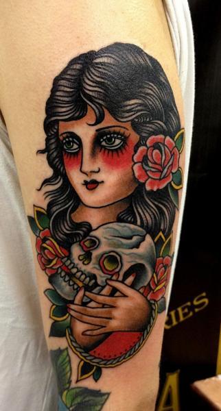 tattoo-old_school-women-skull-gypsy