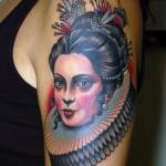 tattoo-shoulder-old-school-woman